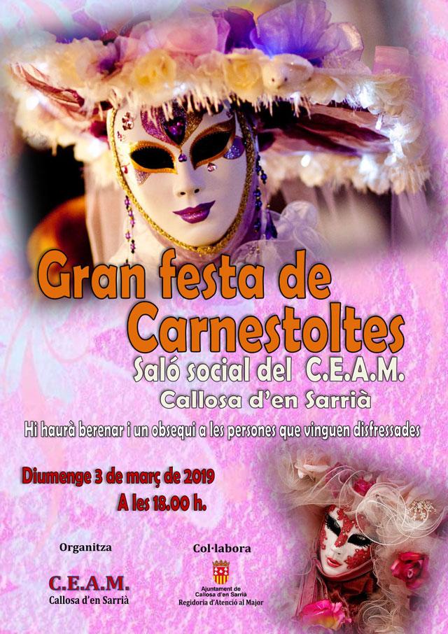CARNESTOLTES CEAM Callosa 2019
