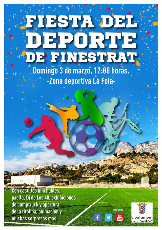 Fiesta del deporte Finestrat 2019