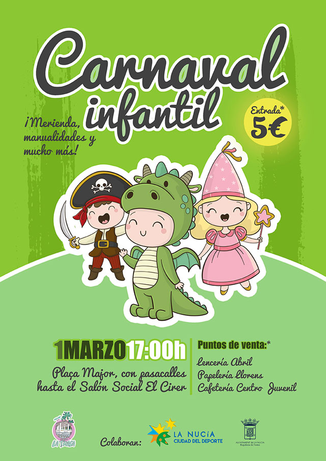 La Nucia Carnaval Infantil 2019