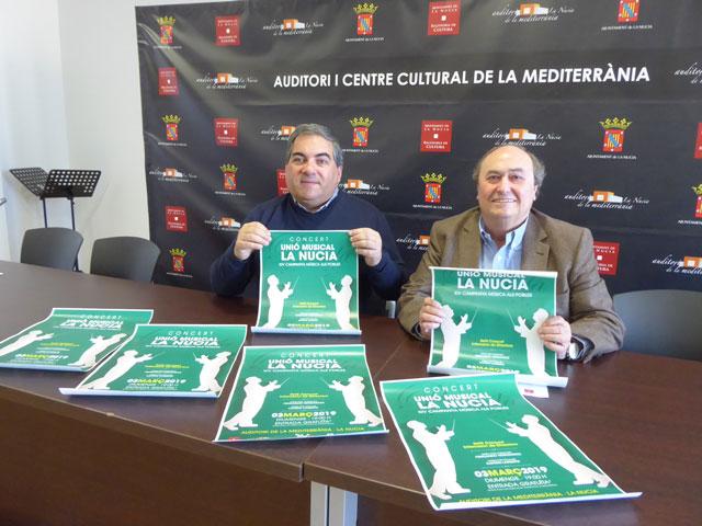 La Nucia Concierto Intercambio Directores 2019
