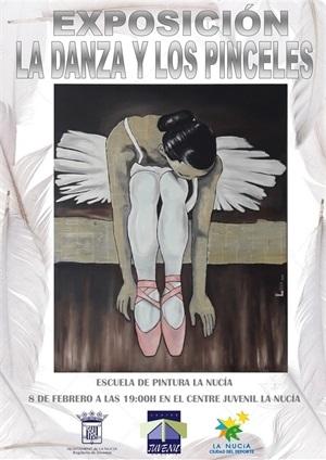 La Nucia Exposicion pintura la danza y los pinceles 2019