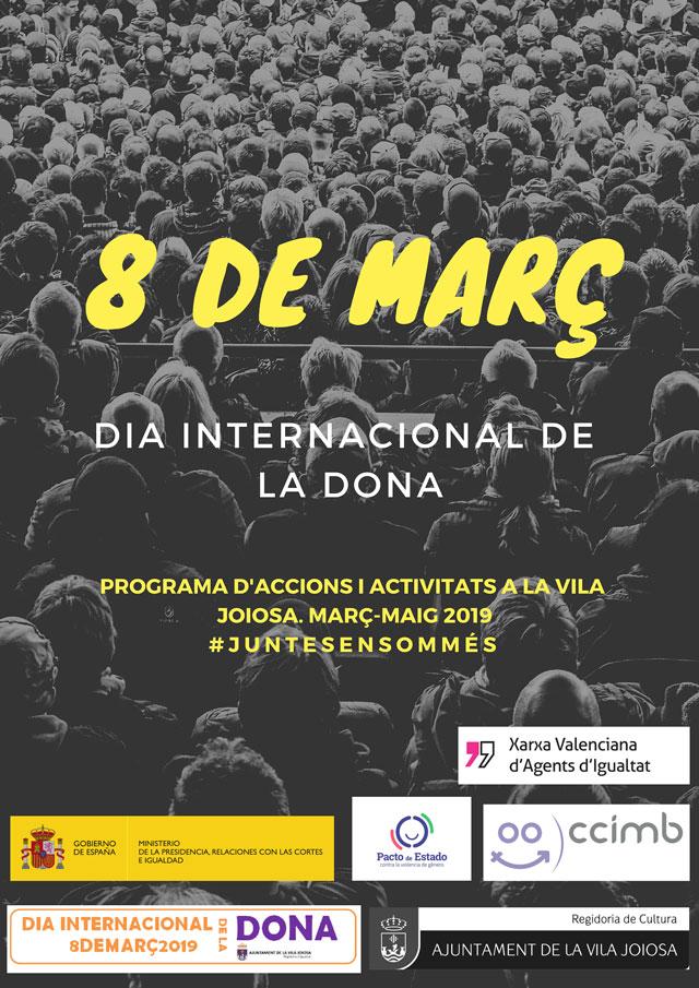 La Vila Joiosa 8 de marzo 2019