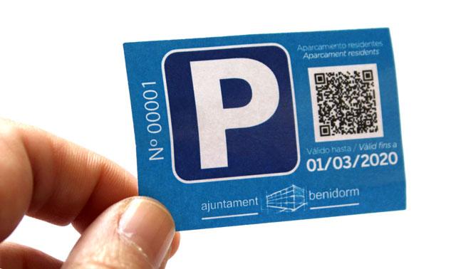 Benidorm tarjeta residente 2019