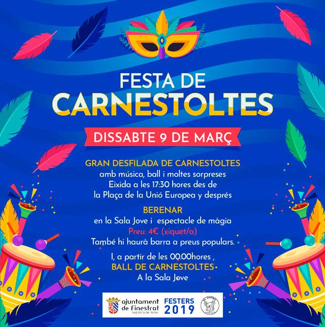 Carnaval Finestrat 2019