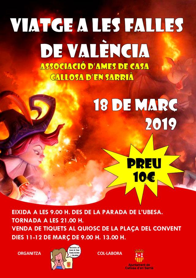 FALLES DE VALENCIA CALLOSA 2019