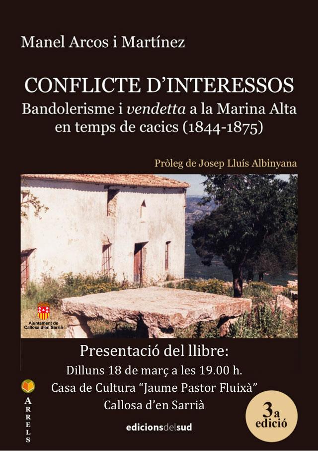 PRESENTACIon libro MANEL ARCOS callosa 2019
