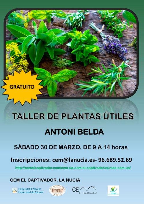 curso de plantas utiles en el cem el captivador