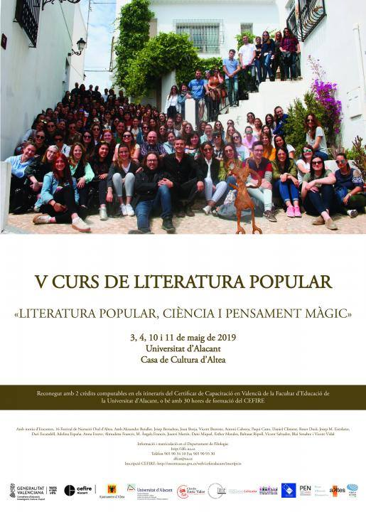 Altea Curso Literatura Popular 2019