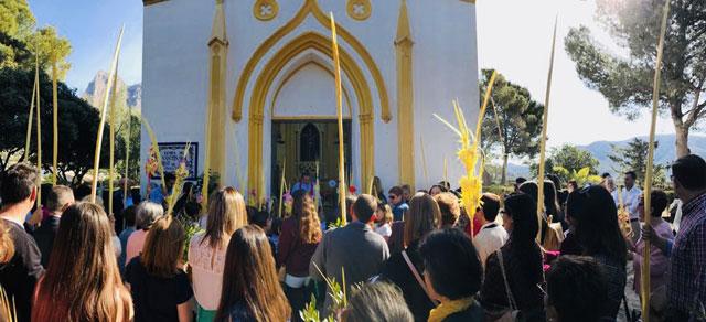 Domingo Ramos semana santa Finestrat 2019