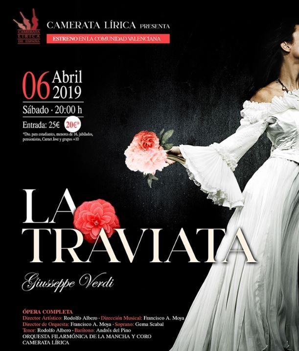 """Carmeta lirica llega a l'Auditori con """"la traviata"""""""