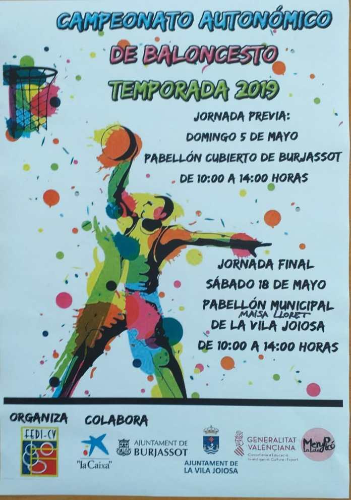 Final del Campeonato Autonomico de Baloncesto de la Comunidad Valenciana 2019