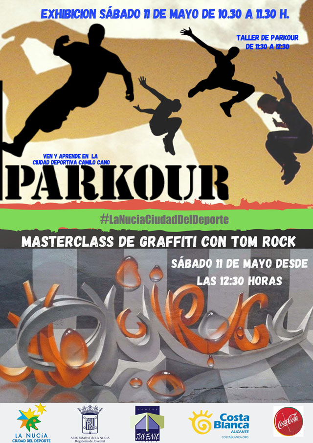La Nucia Parkour y Graffiti 2019