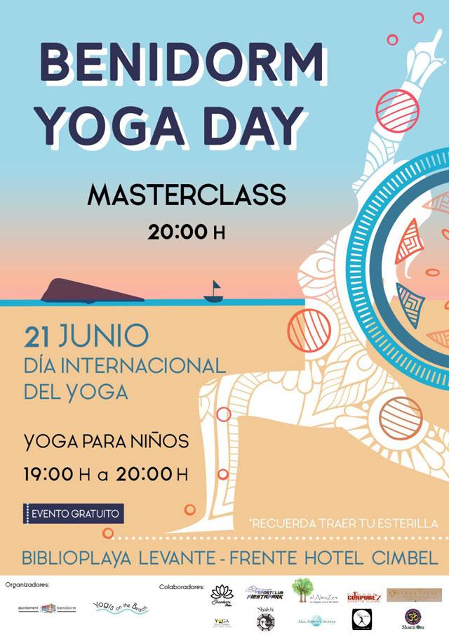 Benidorm se suma a la celebración del Día Internacional del Yoga