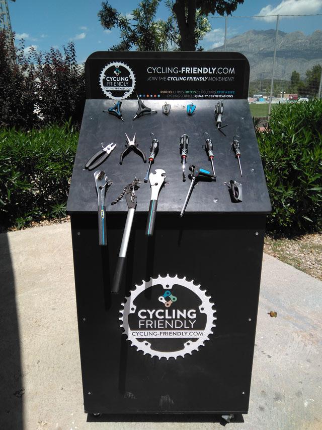 Las Concejalías de Turismo y Deportes ponen en marcha acciones para convertir a Altea en un destino de cicloturismo