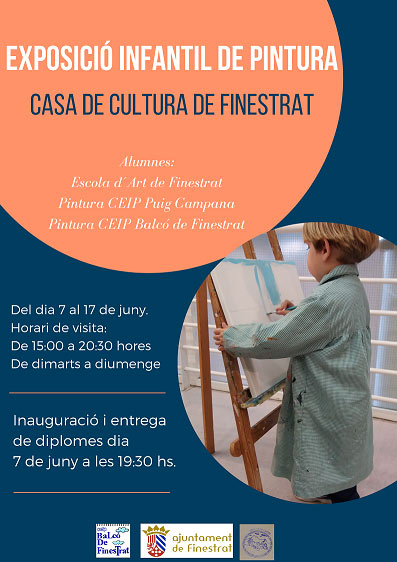 Exposicion Pintura infantil Finestrat 2019
