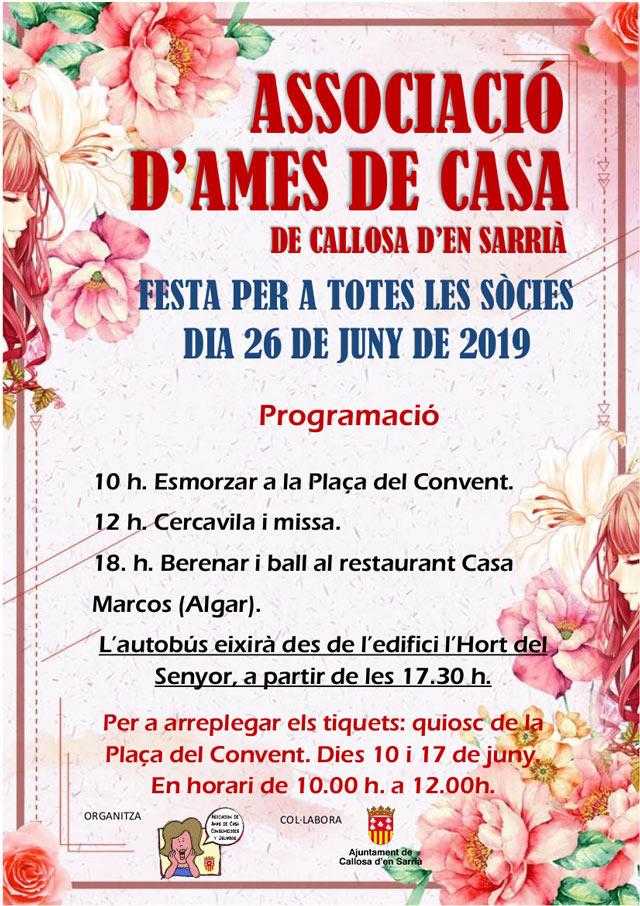 Festa Ames de Casa Callosa 2019