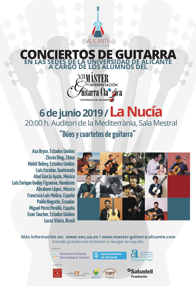 La Nucia Concierto Guitarra 2019