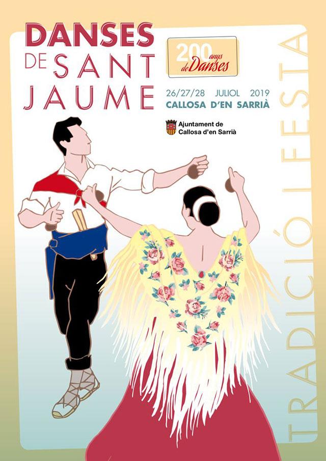 Las «Danses de Sant Jaume» vuelven a Callosa d'en Sarria