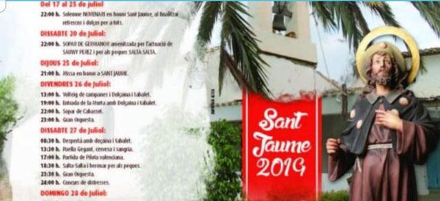 Fiestas Sant Jaume Altea 2019