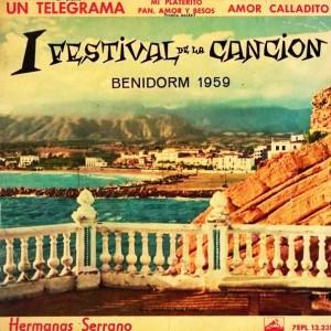 I Festival de la Cancion Benidorm 1959