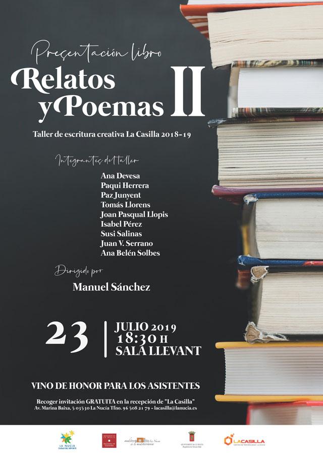 La Nucia Presentacion libro Relatos y Poemas II 2019