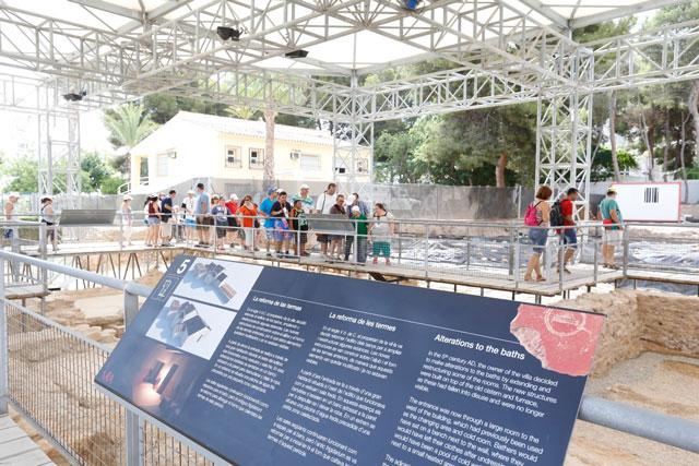 Visita guiada museo villa romana Albir Alfas del Pi 2019