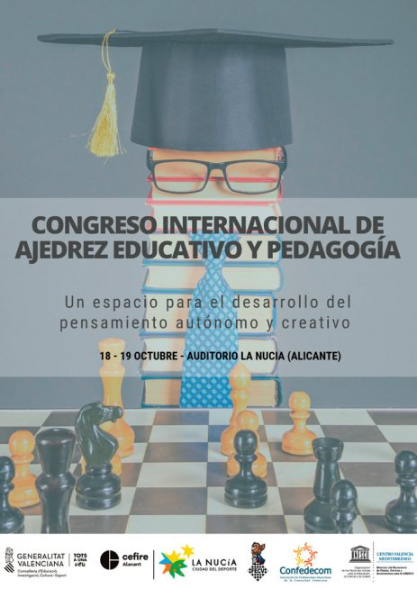 Congreso internacional de ajedrez educativo y pedagogía nucia
