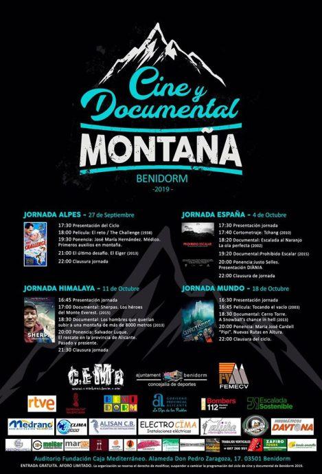 I Ciclo de Cine y Documental de Montaña en Benidorm