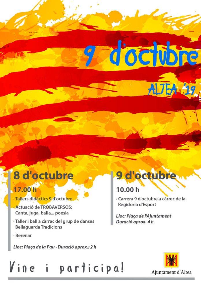 Altea celebra el 9 d'octubre