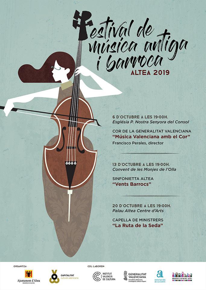 Vuelve el Festival de Música Antiga i Barroca a Altea