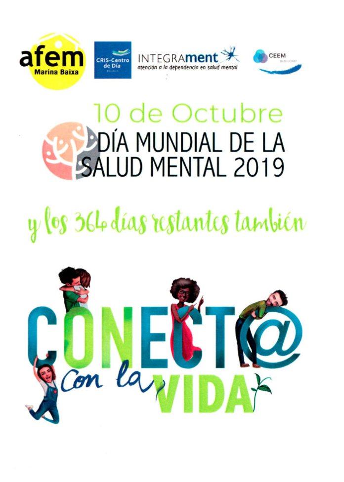 Benidorm celebra el Día Mundial de la Salud Mental