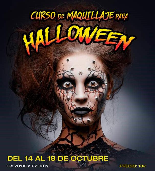 Taller de Maquillaje para Halloween en Bendiorm