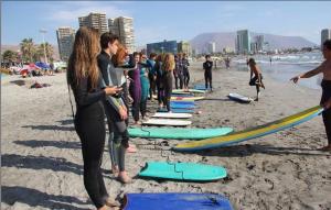 clases de surf en iquique
