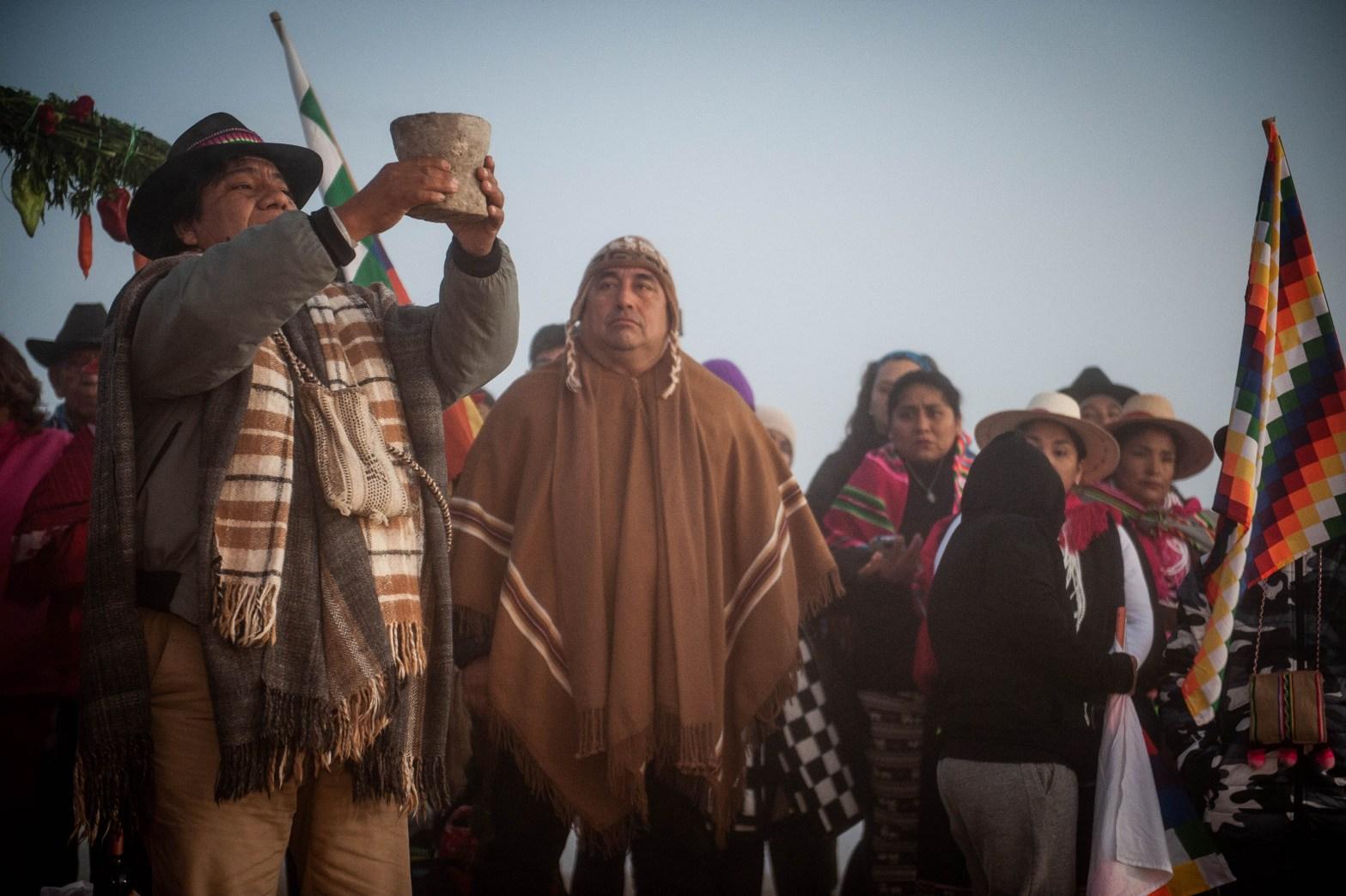 Ceremonia año nuevo Aymara