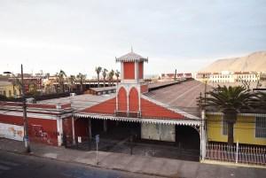ex estación de ferrocarril Iquique