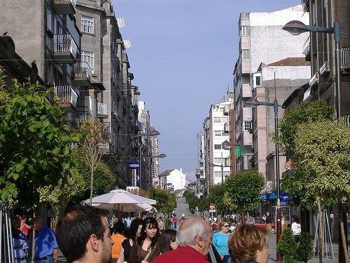 Zona Peatonal del Calvario