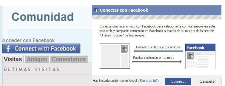 Conéctate a Que Hacer En Vigo con tu cuenta de Facebook