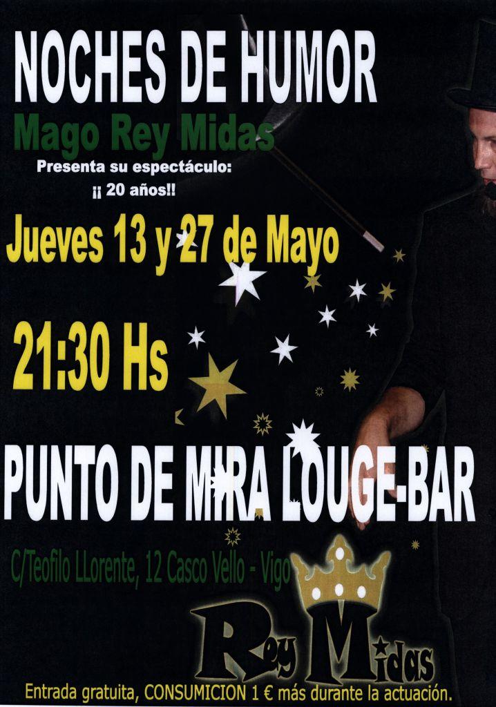 [Promo] Magia + Humor en Punto de Mira ( Louge Bar )