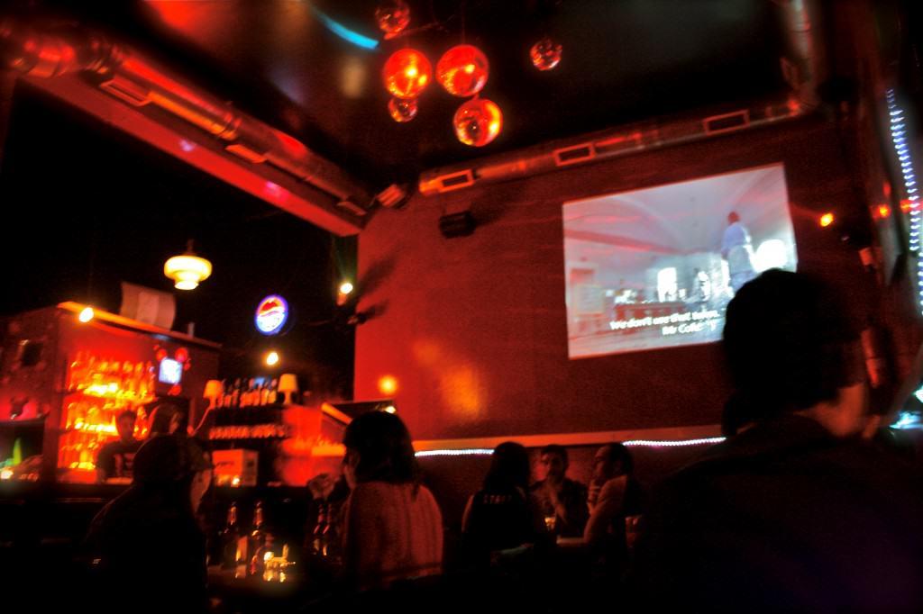 Tzameti Bar, un local distinto y con muy buena pinta.
