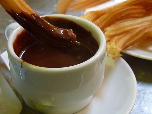 El mejor Chocolate con Churros de Vigo.