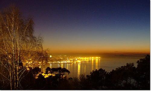 Vigo desde el monte Alba