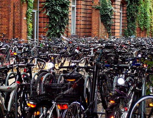 Fiesta de la bici en Vigo