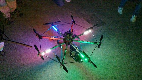 Impresionante vídeo en el que un robot aéreo captura Vigo