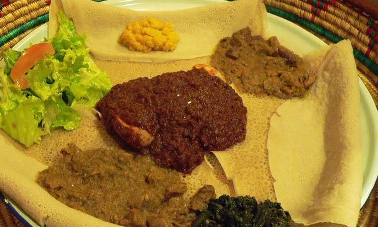 Restaurante etíope en Vigo