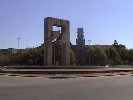 El reloj del Instituto Santa Irene