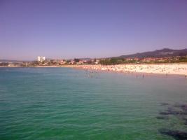 Praia de O Vao. Vigo.