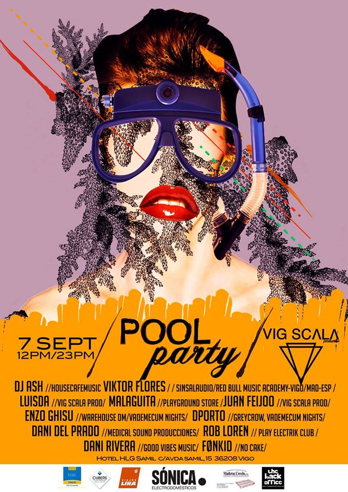 Pool Party en el Hotel Samil