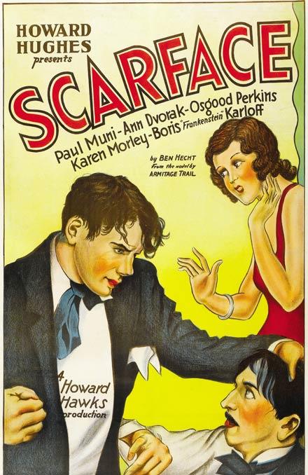 SCARFACE ciclo cine negro