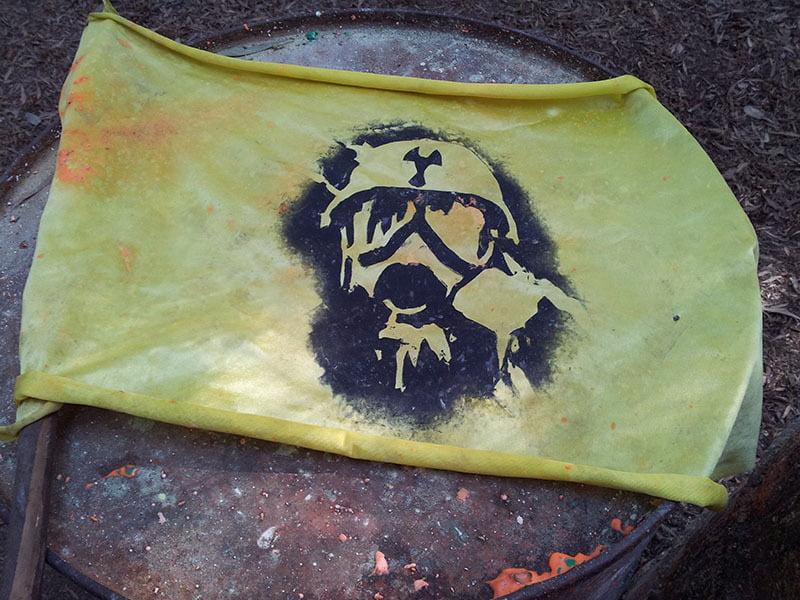 Radiación Paintball cerca del CUVI