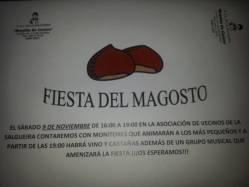 Fiesta del Magosto en Rosalía